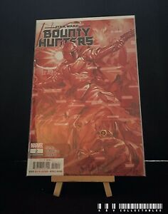 Marvel Star Wars Bounty Hunters Issue 6 2nd Print (2020) Bagged & Boarded