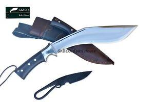 "Genuine Gurkha Kukri 11"" AEOF Afghan Official Issue Combo Knife -GK&CO In Nepal"