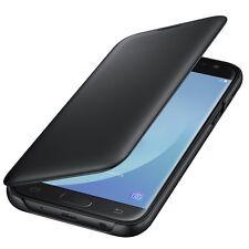 Cover Flip Originale Samsung EF-WJ530 NERO  per Galaxy J5 2017 SM-J530