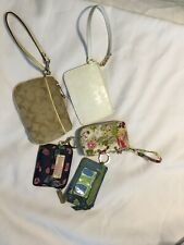 Lot Of Coach Michael Kohrs Vera Bradley Lilly Pulitzer Wristlet Wallet Coin