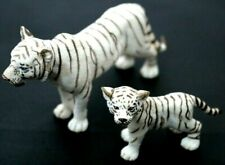 Schleich Am Limes White Bengal Siberian Tiger Cats