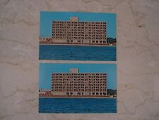 2 Vintage 1980's Ramada Inn Oceanfront Virginia Beach VA Postcards Unused