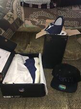 Air Jordan 11 6 Jeter Package Slides Snapback Sneakers Sz 11