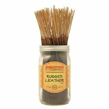 Wildberry RUGGED LEATHER Incense 10 sticks *FREE SHIPPING* AMERICA'S BEST