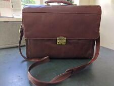 S. Babila Milano Brown Satchel/Briefcase
