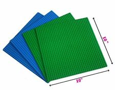 "4pc (2green+2Blue) 10x10""  or 32x32 peg Baselate, Compatible to base plate 10700"