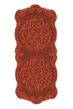 Heritage Lace Rondeau Table Runner 14 x 33, Paprika Color, Really Stunning