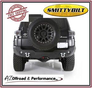 Smittybilt M1 Rear Bumper - Black PC fits 2007-2014 Toyota FJ Cruiser SUV 614850