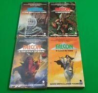 Falcon ***BOOKS 1-4!!*** Mark Smith Jamie Thomson Fighting Fantasy #2