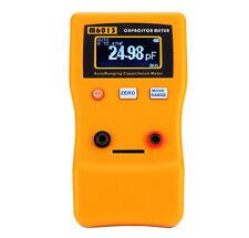 M6013 V2 AutoRange Digital Capacitor Capacitance Tester Meter 0.01pF to 470mF