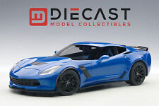 AUTOART 71265 CHEVROLET CORVETTE C7 Z06 (LAGUNA BLUE TINTCOAT) 1:18TH SCALE
