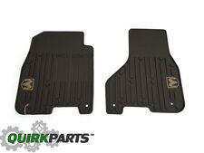 2012 Dodge Ram Truck Crew and Mega Cab Brown Front Slush Rubber Floor Mats MOPAR