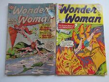 DC WONDER WOMAN #144,149 1964