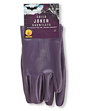 Accesorio Disfraz Caballero Oscuro, Niños Batman Joker Guantes