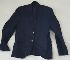 Men's Blue blazer with white buttons size 38 Excellent condition