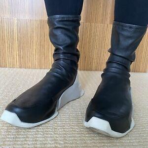 RICK OWENS X ADIDAS ORIGINALS Sock Sneakers AU 6, EU36-37, UK 4.Great Condition.