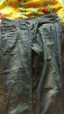 ONE TRUE SAXON JEANS  WAIST 32 LEG 32