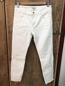 Pantalon Jean Blanc Pablo Gerard Darel Taille 38