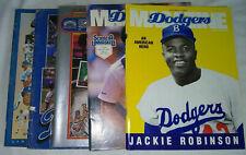 More details for los angeles dodgers offical scorecard magazine x 5, 1981, 1982, 1987, 1989, 1990