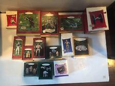 Hallmark Ornament Star Wars Lot . of 14