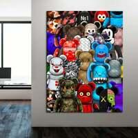 Bears, Bears family, canvas wall art, wall decor