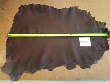 Brown Burgundy Whole Sheep Skin Leather 0.6-0.8mm Thick Good Quality 23666