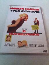 """DVD """"EL MULTIMILLONARIO"""" PRECINTADO SEALED MARILYN MONROE GEORGE CUKOR YVES MONT"""