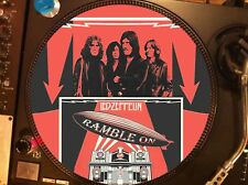 "Led Zeppelin - Ramble On Mega Rare 12"" Picture Disc Promo Single LP (II)"