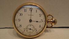 1908 American Waltham Watch Co. Pocket Watch 17 Jewels Model 1883 18 Size