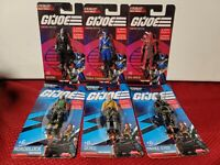 GI Joe Mini Figures Limited Edition *COMPLETE SET OF 6*