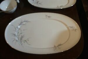 Thomas Germany Rosenthal Large Platter Vintage Coupe 7533 Ribbed Thistle B30