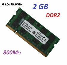 2GB MEMORIA RAM PORTATIL ¡ NUEVA ! PC2 6400 DDR2 800Hz 2RX8 200PIN INTEL Y AMD