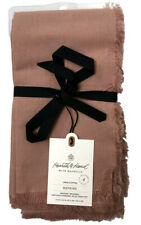 Hearth and Hand with Magnolia Linen & Cotton Dining Dinner Napkins 4 Pieces