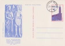 Poland prepaid postcard used (Cp 362) LWOWEK SLASKI