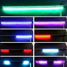 New 7 Colors 56CM 48 Led night Rider Flash Scanner Neon Strip Light Remote 12V