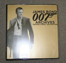 James Bond 007 Archives 2014 Trading Card 3 Ring Binder Album P3 Promo