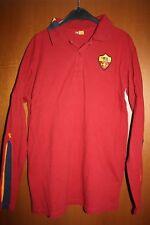 Maglia Shirt Trikot Polo ASR AS Roma Diadora Manica Lunga Totti Rom