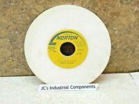 "Norton    surface grinding wheel   7""  X  1/4""  X  1-1/4""  38A80-J8VBE  80 grit"