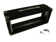 """Procraft 4U 6"""" Deep Equipment Rack 4 Space - Made in the USA - With Rack Screws"""