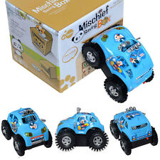 Super Cute Disney Mickey Mouse Rolling Turn Reverse Electric Car Tumbler Kid Toy