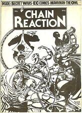 Chain Reaction #6 (UK fanzine, 1984) Hawkman - EC retrospective - The Owl
