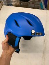New listing Giro Adult Large Matte Blue Ski Snowboard Helmet $100