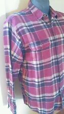 Classic Field & Stream Original Outfitter Flannel Shirt Red Plaid  Men's XL