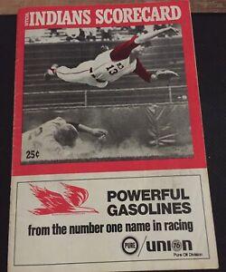 1969 Cleveland Indians Scorebook vs Red Sox, 6/19/59   , Yaz, Petrocelli, Scored