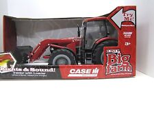Case IH Big Farm Red Tractor with Loader Lights & Sound 1/16 Toy