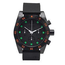 Electric DW01 PU Mens Dive Watch Black Orange EW0030030020 NEW