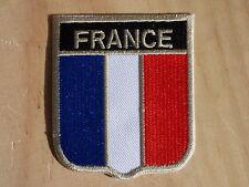 ECUSSON PATCH THERMOCOLLANT aufnaher toppa FRANCE armée airsoft drapeau fanion