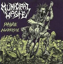 MASSIVE AGGRESSIVE CD BY MUNICIPAL WASTE NEW SEALED