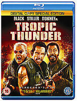 Tropic Thunder [Blu-ray] [2008], New, DVD, FREE & FAST Delivery