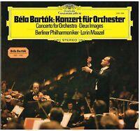 Bartok: Konzert Für Orchester,Zwei Kariert Op.10 / Maazel - LP Deutsche Grammoph